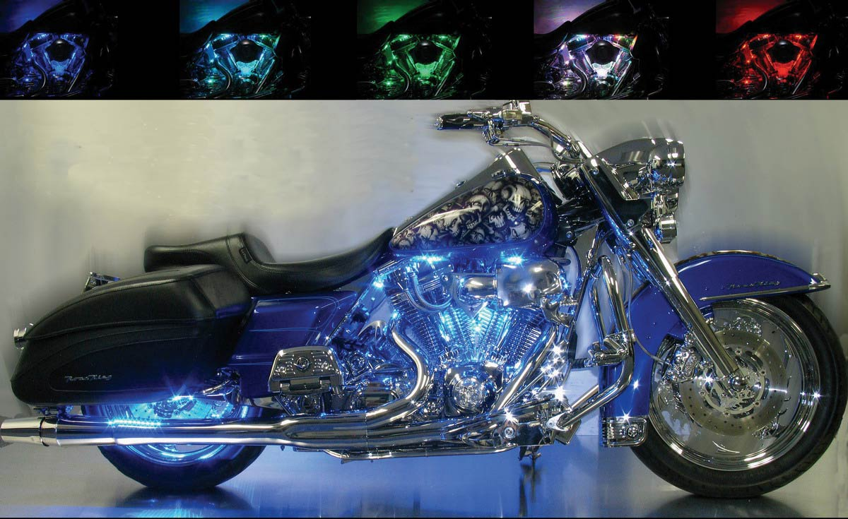 Harley Davidson Motorcycle Led Lights Tail Lights Turn